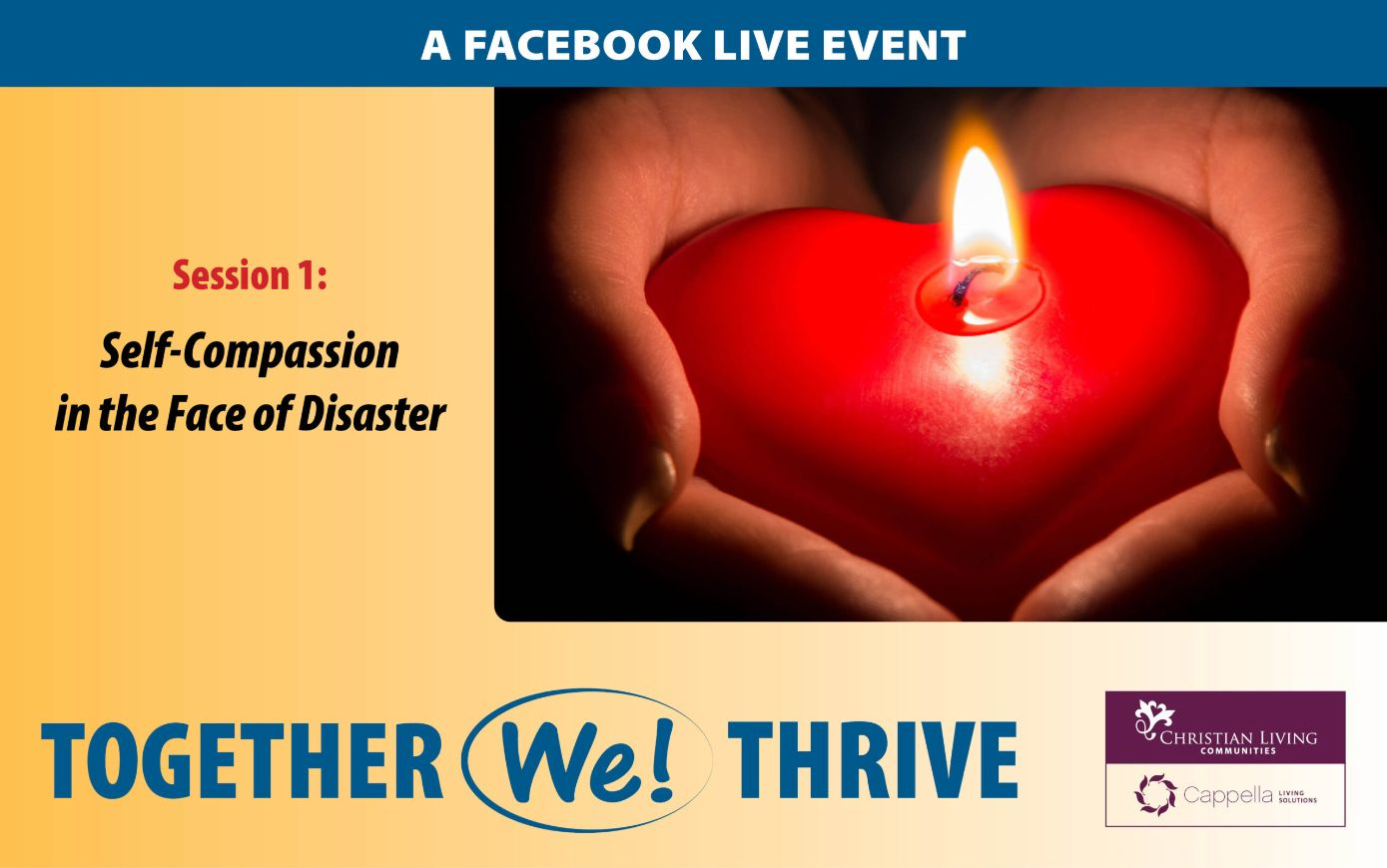 Together we thrive facebook event